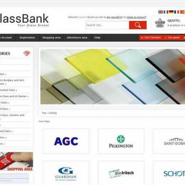 e-Glass bank
